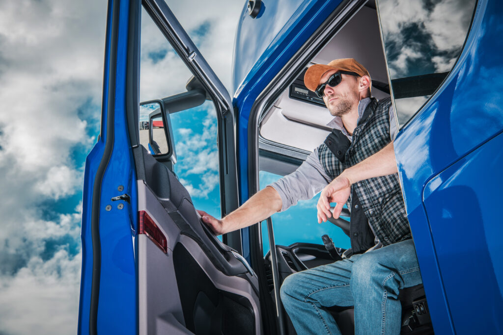 truck driver wearing